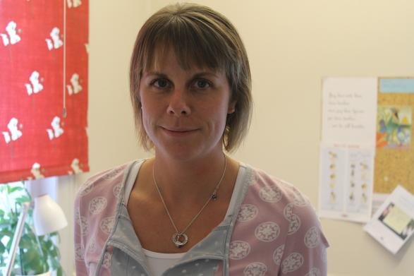 Skolsköterskan Anna Persson