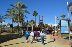 Fortatte med en tur efter Playa Puerto Banús