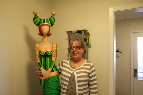 Monica och Tant Grön!