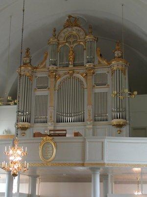 Skellefteå landskyrka Stora orgeln