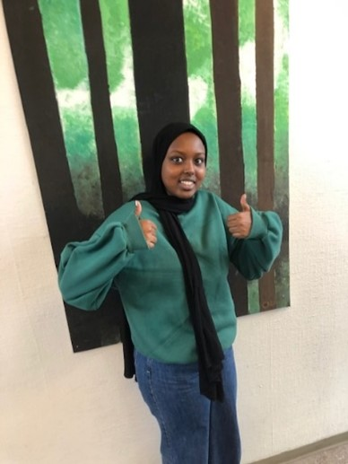 Faiza Abdulahi Saleban, Sa21C:Bra: ingetDåligt: matte
