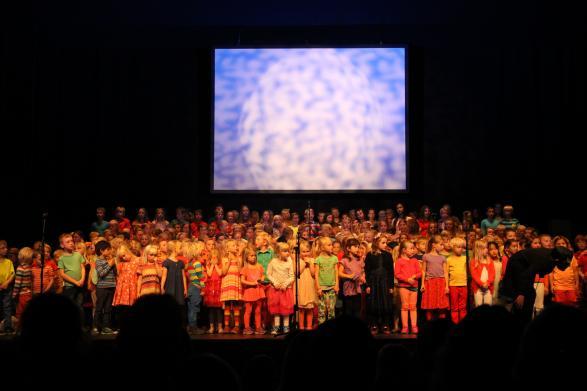 Barnen sjunger för fullt!