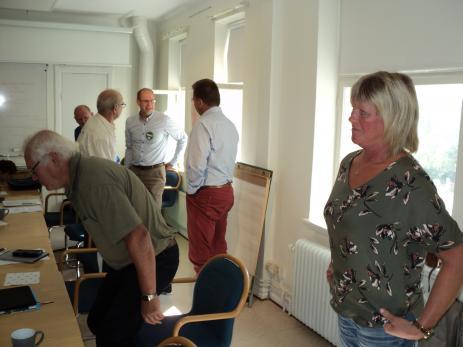 <span>På bilden syns Ellinor Andersson ordf. i</span><span>Backaryds samhällsförening och Roland Gustavsson, Nicolas Westrup, Berth</span><span>Anders Svensson; Kenneth Mikaelsson och Willy Persson.</span>