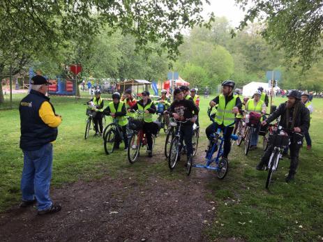 Startskottet för de första cyklisterna gick klockan 08.30 då det var dags för både Kusttrampen, Silpingetrampen och Ådalstrampen.