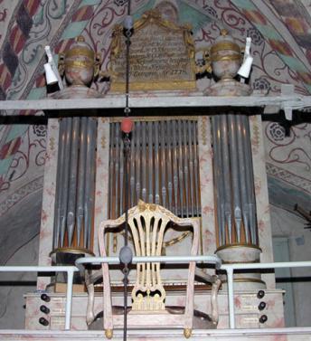 Orgeln i Yttergran kyrka