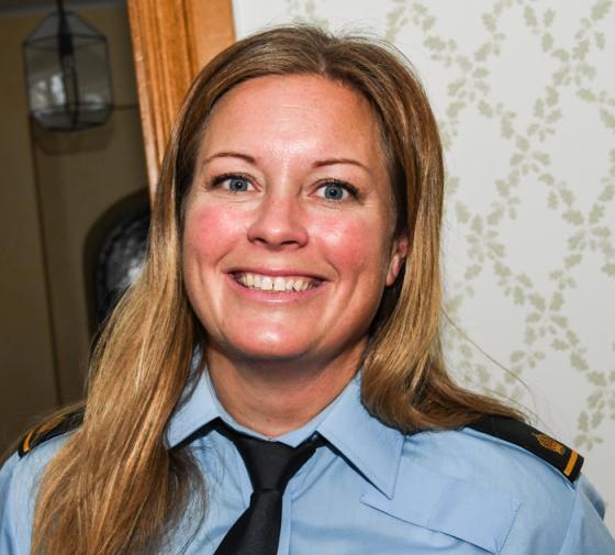 Kommunpolis Karin Mårdh-Stavåsen