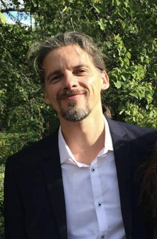 Anders Ödeen (1969-2016) som nu har en äng i Uppsala med hans namn