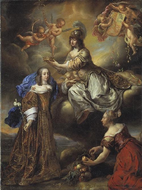 Hedvig Eleonora (1636-1715) gav Gävle en gymnasieskola