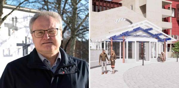 <span>Region Västernorrland gör miljonsatsning på &Ouml;rnsköldsviks sjukhus.</span>