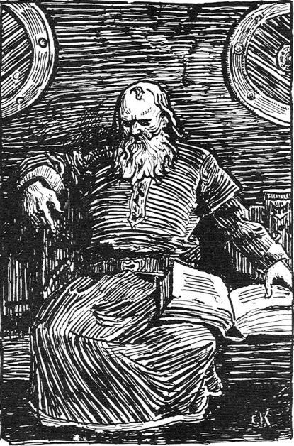 Snorre fantasibild från 1900