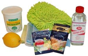städa med citronsyra