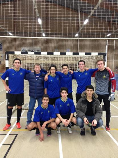 Futsallaget förra året.