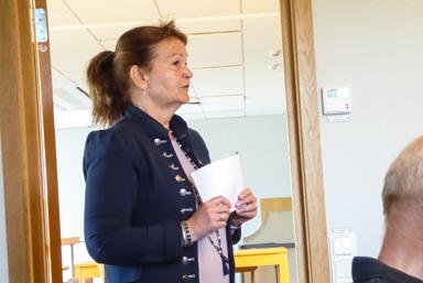 Ann-Marie Nilsson jobbar med näringslivsfrågor i kommunen och är den som företagare kan vända sig till när det finns frågor att diskutera.