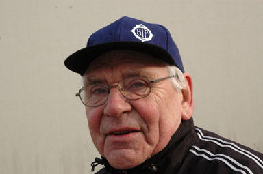 Rolf Rosholm, en av föreningens mångåriga entusiaster. Rolf Rosholm har ockå varit med i jubileumskommittén.