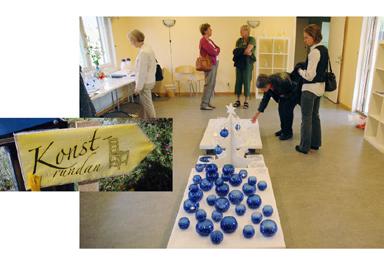 I två dagar har Bollebygdsborna möjlighet att stifta bekantskap med 11 konstnärer i Bollebygds kommun. Missade ni lördagens visningar finns det nya möjligheter imorgon, söndag.