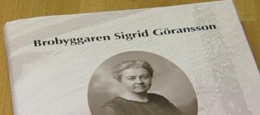Vasaläraren Solveig Östlund-Blomgren presenterar sin forskning i en intressant julbok.