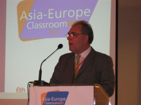 Director RAMON MOLINA during AEC_NET conference in Greece