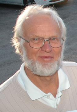 Anders Olsson håller ihop insamlingen för Världens Barn i Bollebygds kommun.