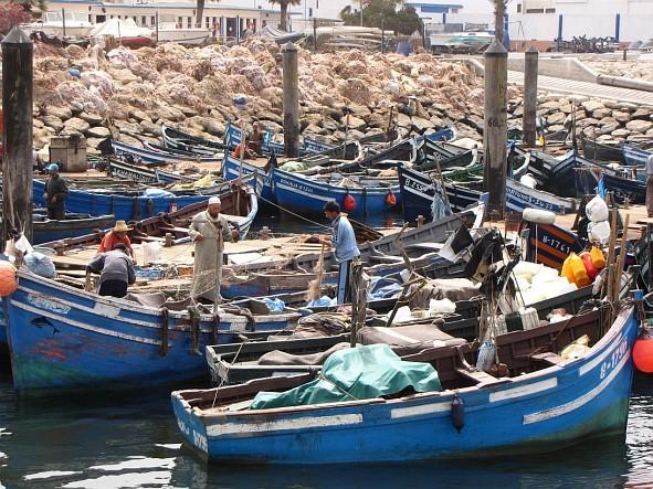Agadir - the port
