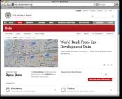 Varldsbanken slapper alla siffror fria