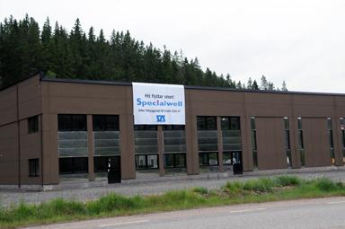 Hit till Råssa och miit emot Hammar Maskin AB flyttar Specialwell i början av oktober.