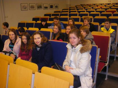 Några av gästerna från Ryssland i Vasasalen