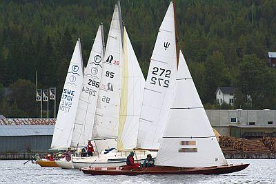 Vackra båtar på väg