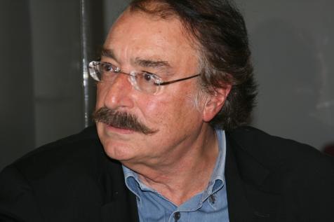 Ignacio Ramonet på besök i Malmö.