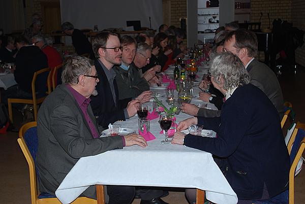 <span>Lördagens middag i Åkersberga.</span>