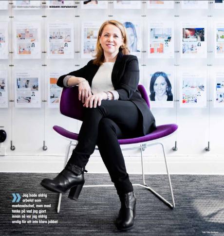 Kristina Wärmare är marknadschef på Bjurfors i Göteborg, som trots att konkurrensen har hårdnat har fortsatt att öka omsättningen.