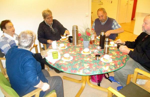 Barbro, Britt, Karin, Lennart och Martin