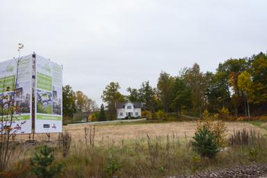 Området Äppellunden i centrala Bollebygd kommer att bebyggas med 30 bostadsrätter.