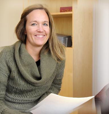 – Genom volontärarbete kan man skaffa sig värdefulla erfarenheter av arbete i andra länder, menar Camilla Falk.