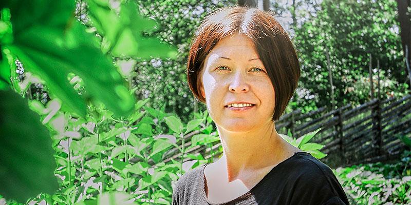 Skördefest 1 september. Petra Johansson äretnolog och koordinator för Skördefesten som hålls i Ramnaparken på lördag. – Alla är välkomna!