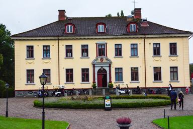 Golfrestaurangen finns på Hulta Golf strax utanför Bollebygd.