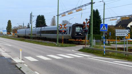 Tåg 4530 mot Malmö o Danmark