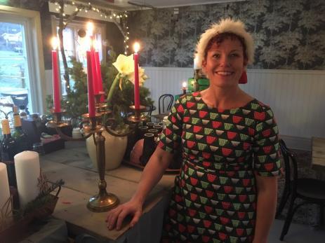 Ninni och Lars Norberg Pfeifer serverade både kaffe och mat till hungriga besökare i sitt Cafe´och Restaurang.