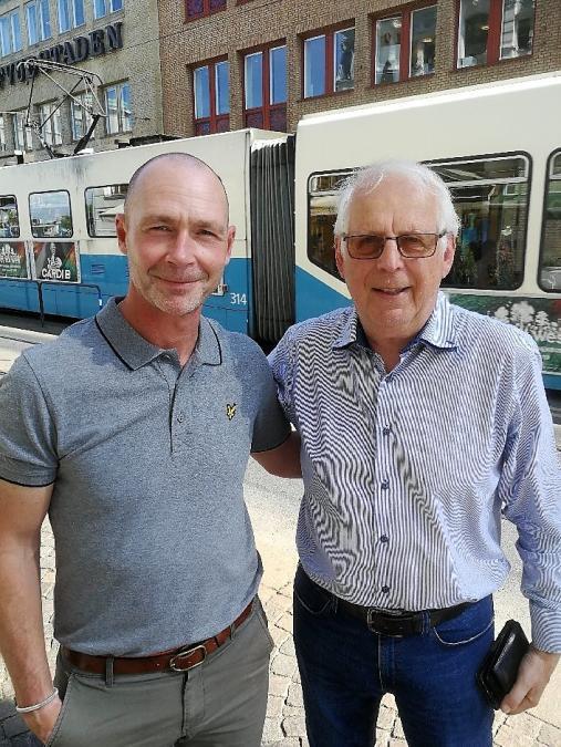 Dick Last och Bengt Bengtsson
