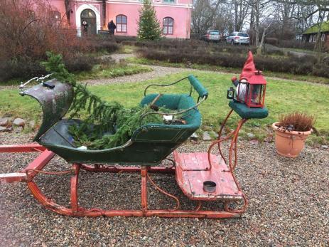 Till mångas glädje hade Hoby Kulle två julmarknader i år.