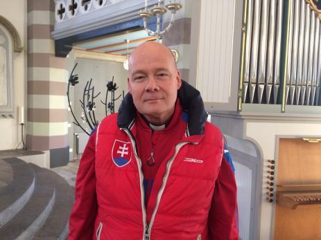 Gunnar Åkesson tillträdde sin tjänst som präst i Bräkne-Hoby kyrka den första september.