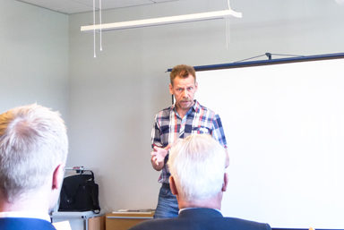 Kommunstyrelsens ordförande Peter Rosholm (S) berättade bland annat att kommunstyrelsen har godkänt ett avtal med Stefan Söderkvist Fastighets AB om byggamed vid Forsa.