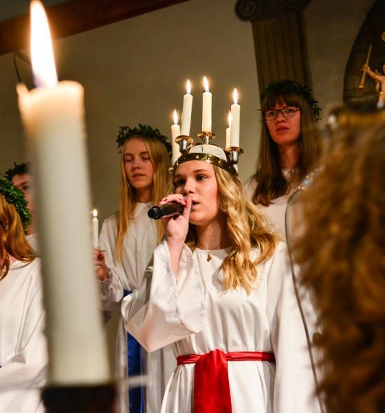 Emma Gustavsson, 2017-års Lucia.