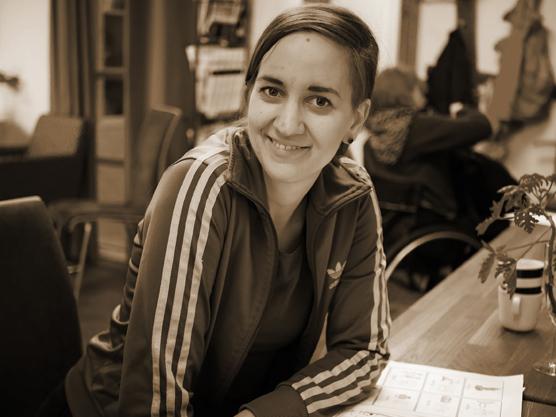 Linda Wardal är en av danslärarna på föreningen Språng
