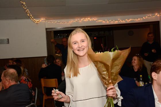 Elin Ganning uppmärksammades för årets prestation.
