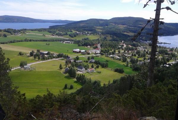 Utsikt från Herrestaberget.