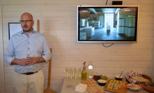 Torbjörn Ullsten berättar hur lyckosam utvecklingen av företaget varit