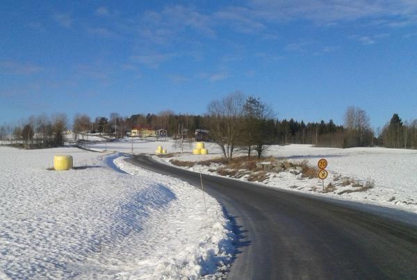 Vägen mot Kallsta.