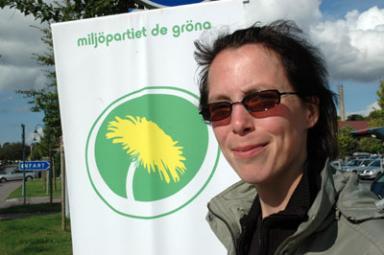 Birgitta Losman är miljöpartiets första namn på regionlistan för den del av länets om en gång kallades södra Älvsborg.