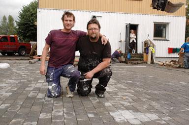 Patric Dahlén och Henric Wåhlin, öppnar HP:s Kök och Bar den 8 september i Bollebygd.
