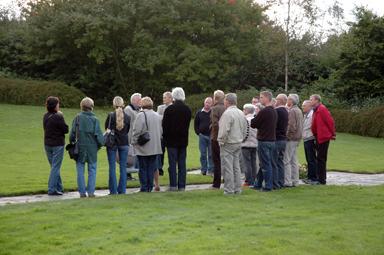 Tidigare i höst bjöds allmänheten in till ett möte på kyrkogården där gruppen som jobbar med förändringsarbetet visade upp ett första förslag.